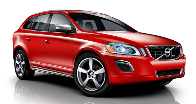 The new R-Design Volvo XC60 SUV will make its official debut at this September's Frankfurt Motor Show