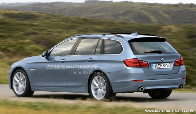 2011 BMW 5-Series Touring Looks better than the 5 series GT monstrosity.