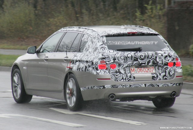 Spy Shots: 2011 BMW 5 Series Touring/Wagon