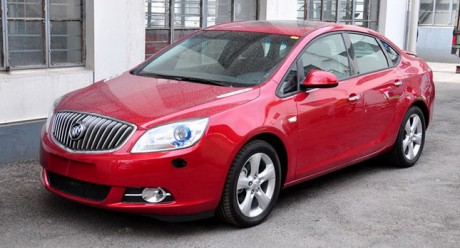 2011 Buick Excelle for China and North America