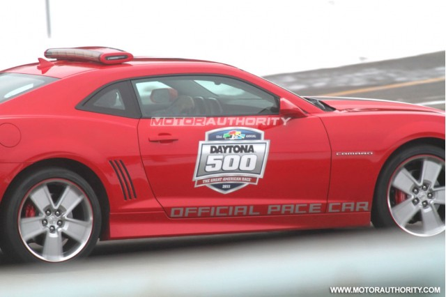 2011 Chevrolet Camaro SS Daytona Pace Car spy shots #7212537
