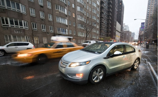 2011 Chevrolet Volt in New York City, March 2010 #9757801