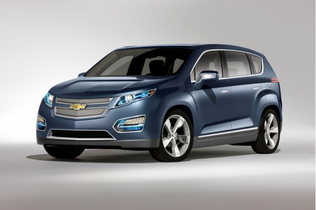 2011 Chevrolet Volt MPV5 concept, Unveiled at 2010 Beijing Motor Show #7530639