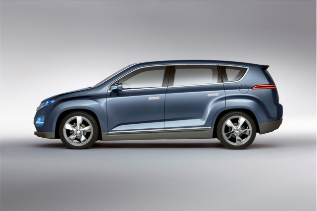 2011 Chevrolet Volt MPV5 concept, Unveiled at 2010 Beijing Motor Show #8767756