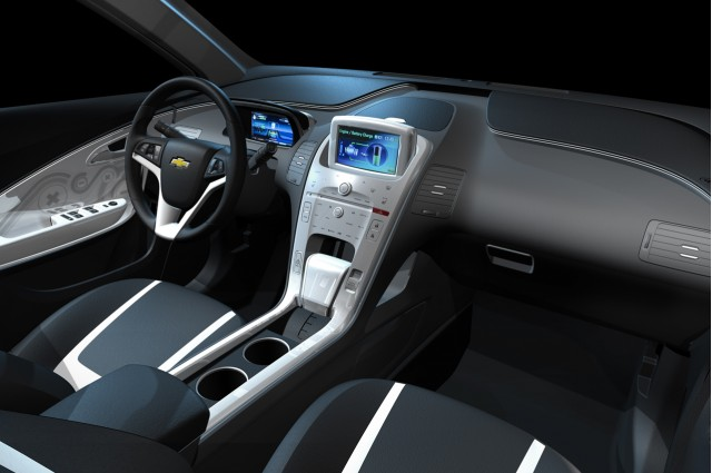 2011 Chevrolet Volt MPV5 concept, Unveiled at 2010 Beijing Motor Show #8692320