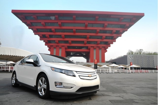 Chevrolet Volt arrives in China for use at World Expo 2010 Shanghai #9638847