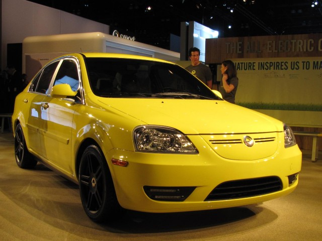 2011 Coda Sedan electric car, at 2010 Los Angeles Auto Show #7263087