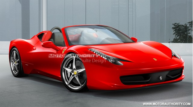 ferrari 458 spider set for frankfurt debut scuderia due 2013. Black Bedroom Furniture Sets. Home Design Ideas