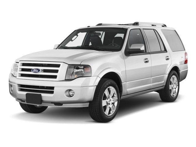 2011 Ford Expedition 2WD 4-door Limited Angular Front Exterior View