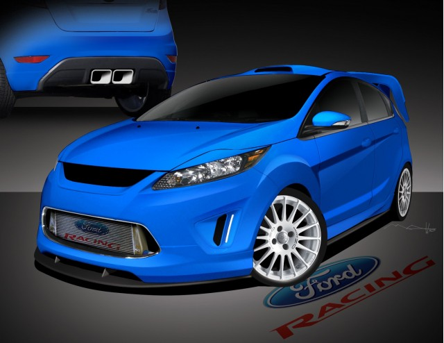 2011 Ford Fiesta concepts for 2010 SEMA show #7333201