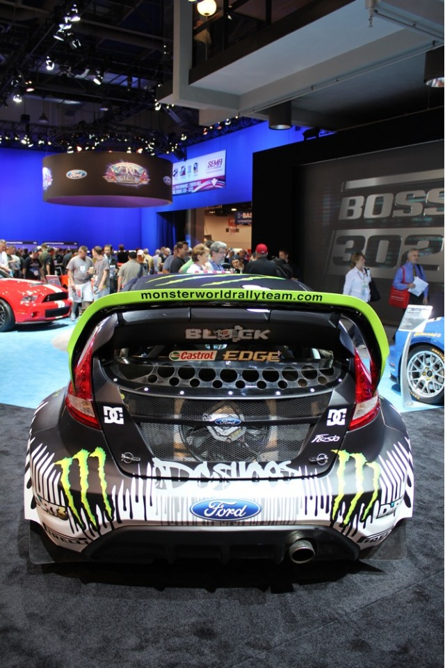 2010 SEMA: Ken Block's Gymkhana THREE ford Fiesta live photos #7216057