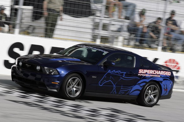 Ford Racing 2011 Mustang GT at Bristol Half-Mile Speed Trials #7141763