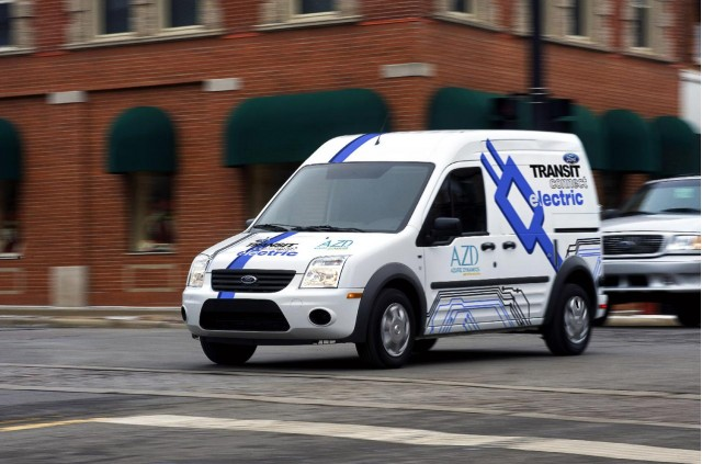 2011 Ford Transit Connect Electric, introduced at 2010 Chicago Auto Show #8431151