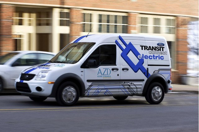 2011 Ford Transit Connect Electric, introduced at 2010 Chicago Auto Show #8024666