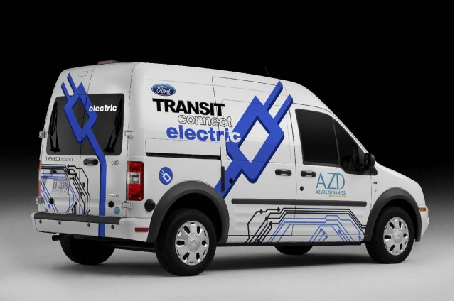 2011 Ford Transit Connect Electric, introduced at 2010 Chicago Auto Show #9494470