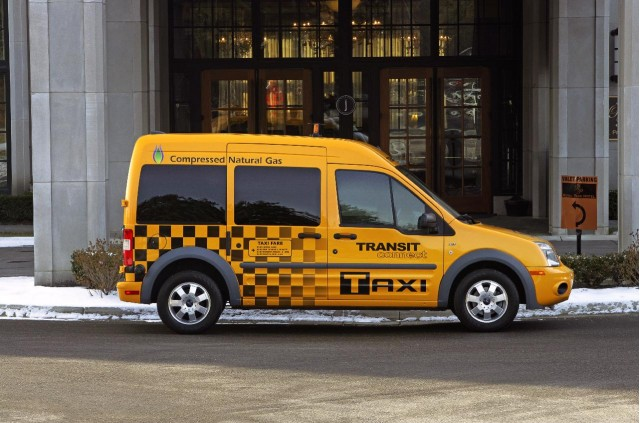 2011 Ford Transit Connect Taxi, introduced at 2010 Chicago Auto Show #8923525