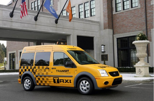2011 Ford Transit Connect Taxi, introduced at 2010 Chicago Auto Show #9328012