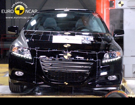 2011 Honda CR-Z Euro NCAP crash testing #9689518