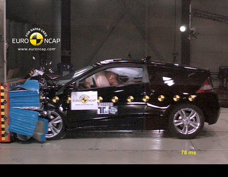 2011 Honda CR-Z Euro NCAP crash testing #9990195