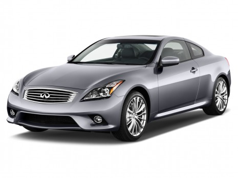 2011 Infiniti G37 Coupe 2-door Journey RWD Angular Front Exterior View