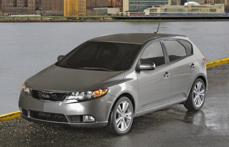 2011 Kia Forte Five-Door Hatchback