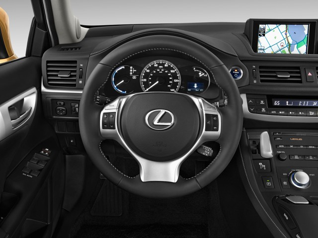 2011 Lexus CT 200h FWD 4-door Hybrid Steering Wheel #8785920