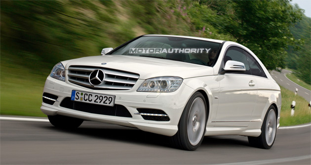 The new C-Class Coupe is expected to bow in by 2011 as a 2012 model