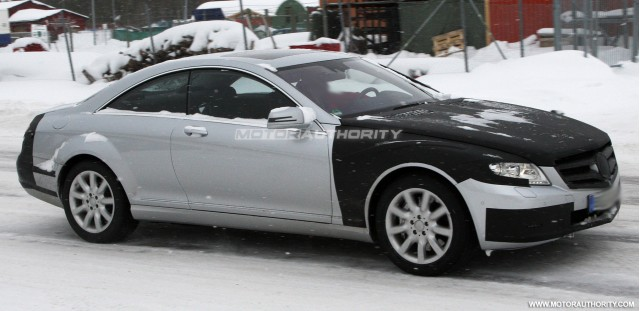 2011 mercedes benz s class coupe spy shots march 003 #7981825