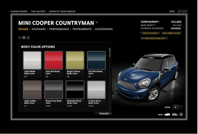 P90076494 4 additionally Mini Countryman Follow Me Guangzhou Airport 01 together with 48678025 further MINI CountryMan Cooper S 184ch 2012 Gris Anthracite also 1051853 start Building Your Dream Mini Countryman With New Configurator. on 2011 countryman