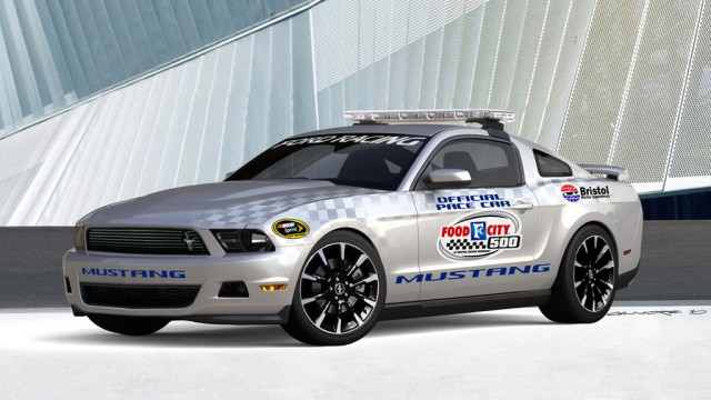 2011 Mustang V-6 Pace Car #7000158