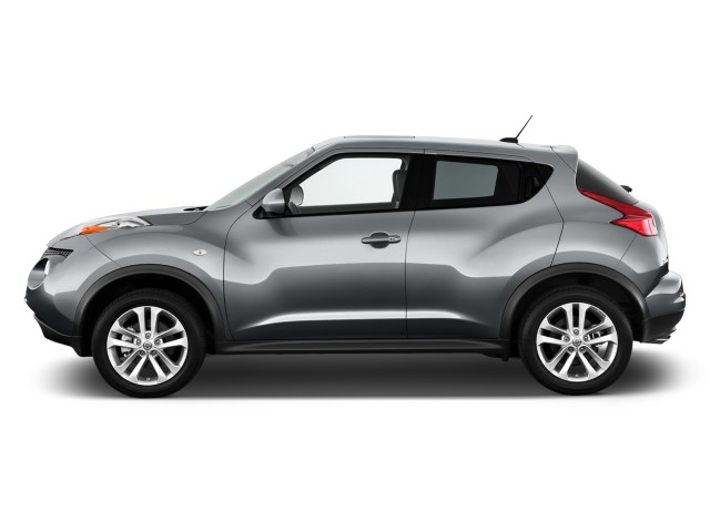 side exterior view 2011 nissan juke awd 5dr wagon i4 cvt sv. Black Bedroom Furniture Sets. Home Design Ideas