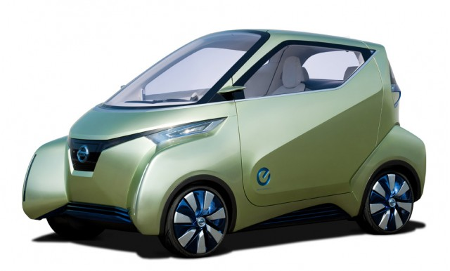 is nissan s tokyo motor show pivo 3 concept a mini leaf in disguise we find out