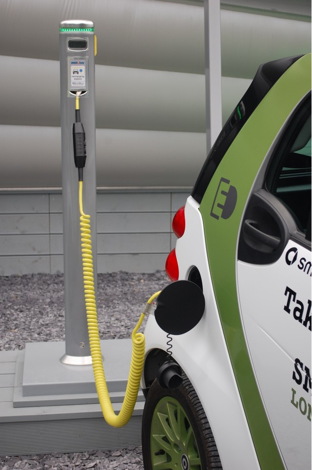 Smart ForTwo Electric Drive at Urban Stage, London #8445056