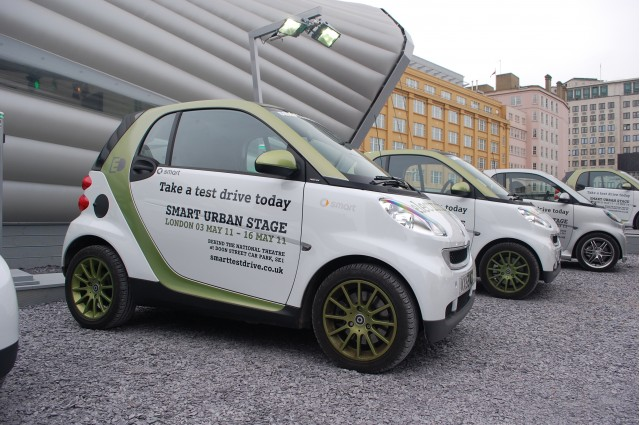 Smart ForTwo Electric Drive at Urban Stage, London #7475682