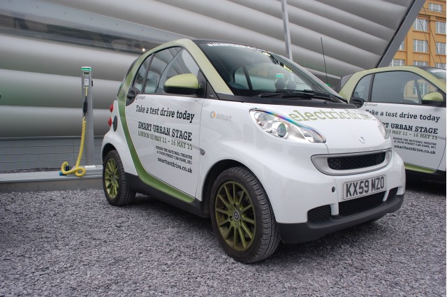 Smart ForTwo Electric Drive at Urban Stage, London #7284238