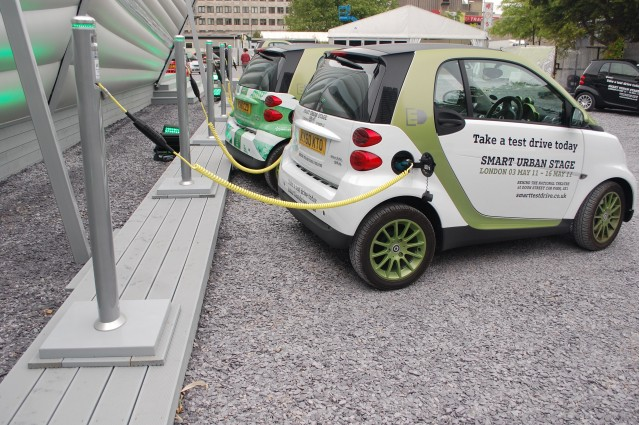 Smart ForTwo Electric Drive at Urban Stage, London #7426873