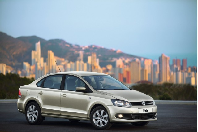 2011 Volkswagen Polo Sedan unveiled in Russia #7583530