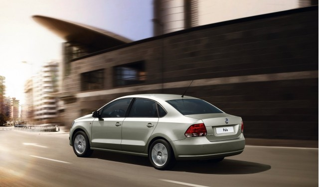2011 Volkswagen Polo Sedan unveiled in Russia #9702698