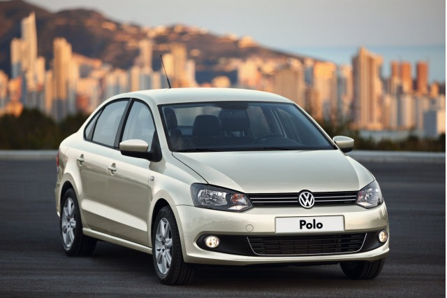2011 Volkswagen Polo Sedan unveiled in Russia #9855762
