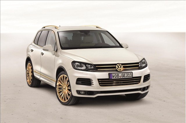 Volkswagen Touareg Gold Edition #7968002