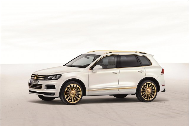 Volkswagen Touareg Gold Edition #8659087