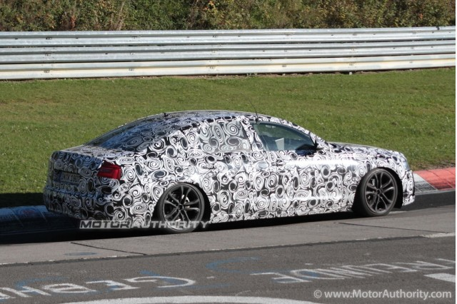 Audi A6 New Spy Shots Of Next Generation