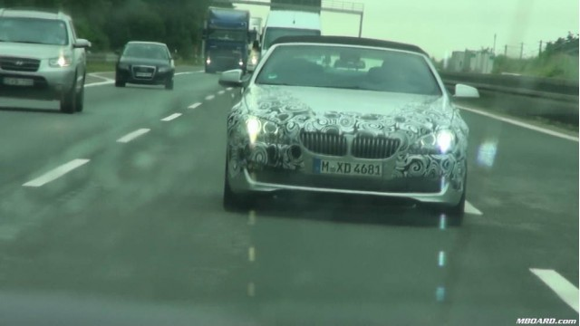 2012 BMW 6-Series spied on German Autobahn #7555905