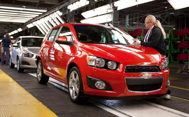 2012 Chevrolet Sonic LTZ at GM Orion Assembly Plant, September 2011