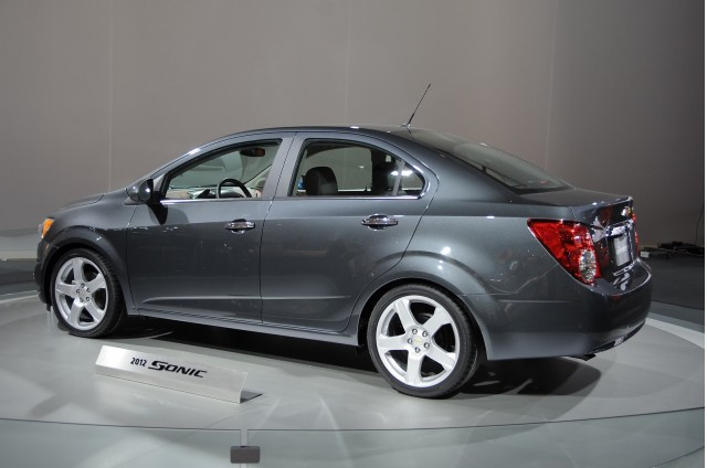2012 Chevy Sonic Subcompact To Start At 14 495 Gallery 1