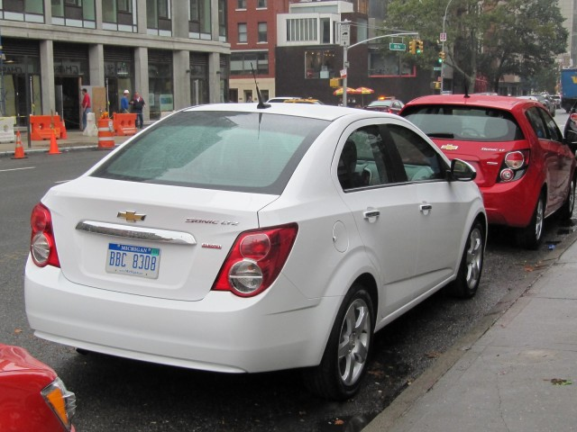 2012 Chevrolet Sonic, New York City launch event, October 2011 #8269458
