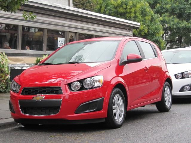 2012 Chevrolet Sonic, New York City launch event, October 2011 #8965500