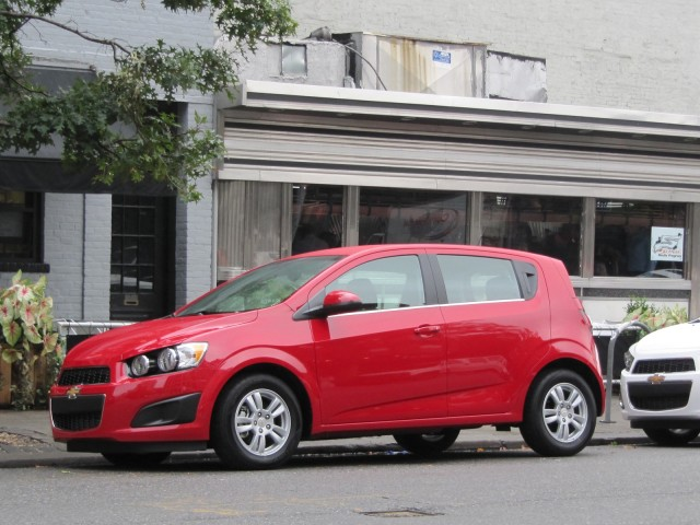 2012 Chevrolet Sonic, New York City launch event, October 2011 #9431595