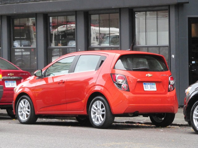 2012 Chevrolet Sonic, New York City launch event, October 2011 #9252861