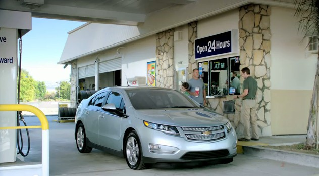 2012 Chevrolet Volt Gas Station Advert